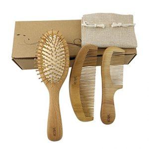 cepillo de cabello bambú